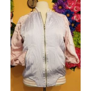 Forever 21 Bomber Jacket- size small
